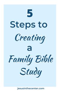 family bible study 2