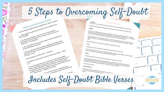 bible verses on self-doubt